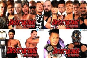 W2M: NJPW Destruction in Tokyo Preview
