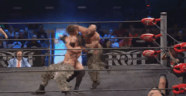 The Very Moment Jay White Gets Ran Over