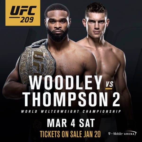 UFC 209 Preview