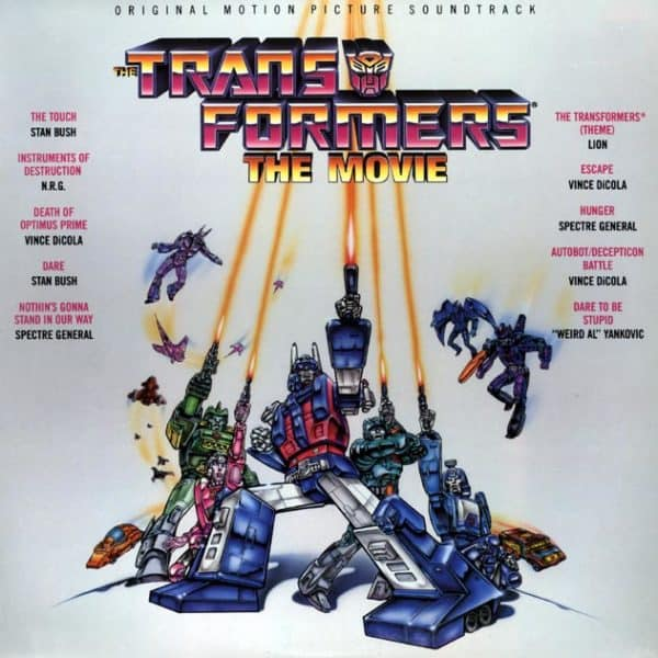 Transformers the Movie Soundtrack
