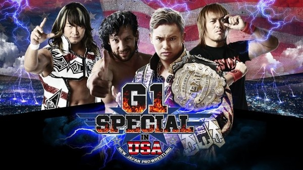 NJPW G1 Special in USA Preview