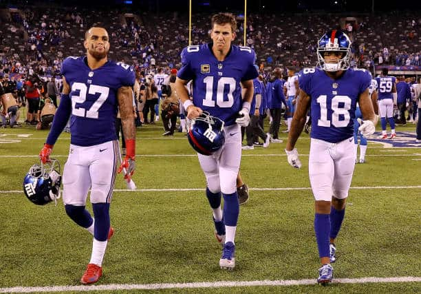 New York Giants Woes