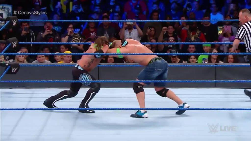 John Cena Appears