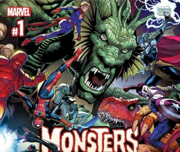 Monsters Unleashed Comics