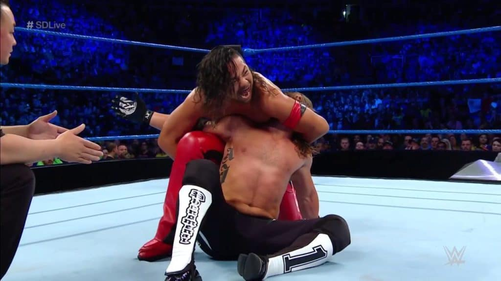 AJ Versus Shinsuke