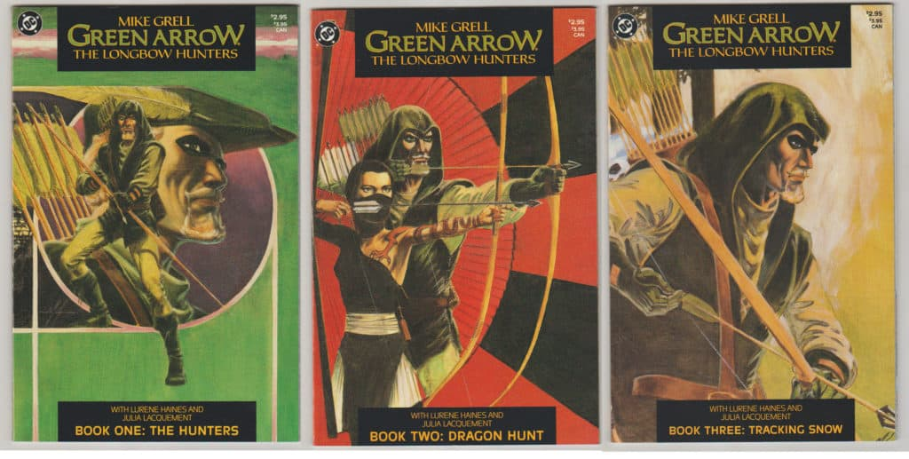 Green Arrow Longbow Hunters