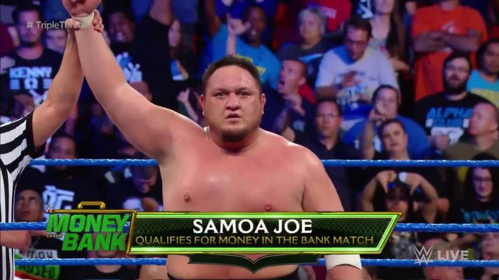 Samoa Joe Qualifies