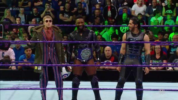 WWE UK Invades 205