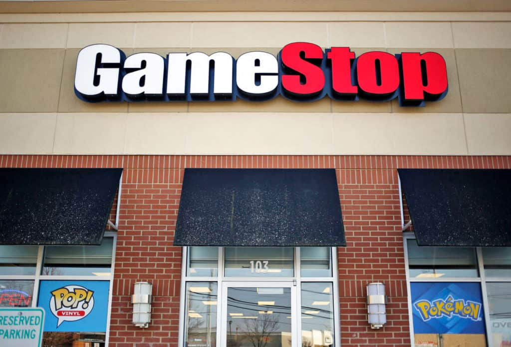 Gamestop Selling