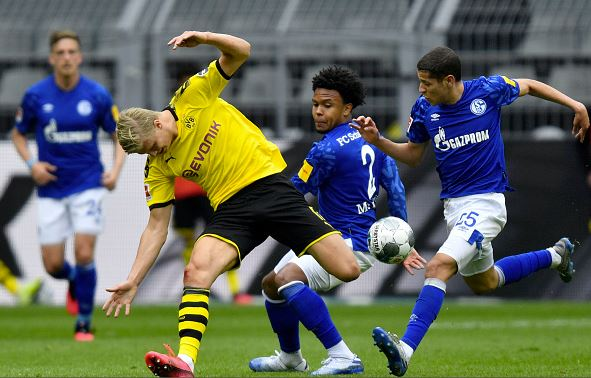 Weston McKennie for Schalke, One of the Americans Abroad