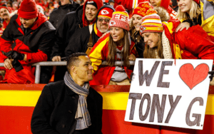 Tony Gonzalez, the Kansas City Chiefs offensive selection on the Greatest of All Teams.