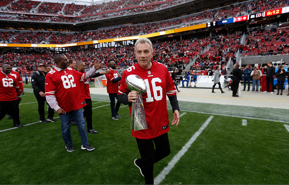 Joe Montana, the 49ers' Offensive Player Selected for the Greatest of All Teams