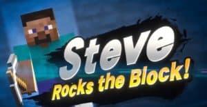 Steve in Smash
